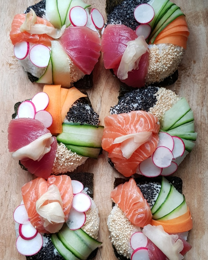 Sushi donut