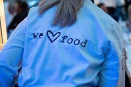 We love food